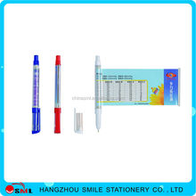 Best Things To Sell promotional plastic ball pen with roll out paper