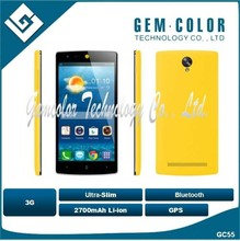 3G Mobile phone GC55 with gps bluetooth slim shell