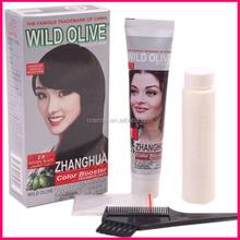 natural black hair dye cream henna herbal hair dye permanent hair color cream