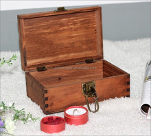 Chinese supplier vintage wooden box for jewelry,Ring,bracelet
