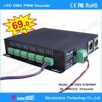 LED DMX Decoder RGB LED Controller