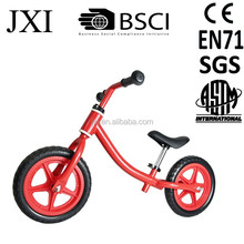2015 fashion EN71-2014 quality standard mini saddle design steel kids learn balance bike no-pedal balance bike