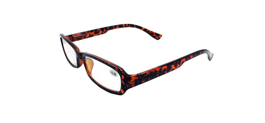 high quality brown frame reading glasses bifocal reading
