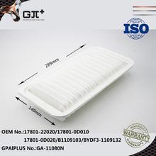 Filtro de aire 17801-22020 / 17801-0D010 / 17801-0D020 / B1109103 / BYDF3-1109132