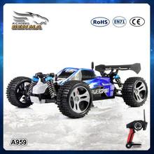 WL A959 2.4G 5CH 1:18 High Speed RC Car