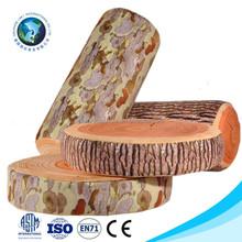 3D printed cute cheap plush soft wood office memory foam seat cushion