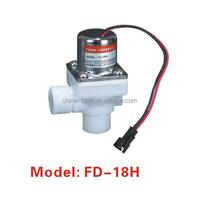 2 way plastic 1/2 inch solenoid valves electric actuator water solenoid valves plastic 6V pulse