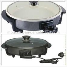 non stick ceramic coating pizza pan-Round electronic pizza pan