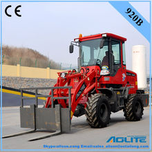 mini front loader with agricultural tyre