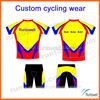 2014 customized hihg quality men's and women's cycling wear/ cycling wear/ crane cycle wear
