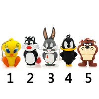usb flash drive 64g pen drive 32g pendrive 16g 8g 4g new style A variety of Cute Cartoon Hot Sale pendrive Usb2.0 free shipping