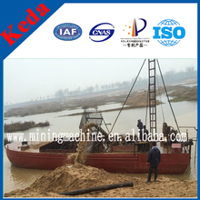 Diesel Engine Jet Suction Sand Pump Dredging Boat
