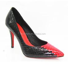 Leather new design cusp OL office ladies thin stilettos high heels women's shoes