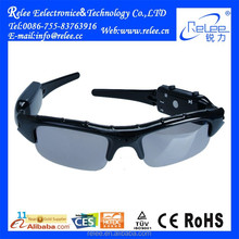 Portable Full HD 720P CCTV Sunglasses Shape Mini Camera for Outdoor Sports