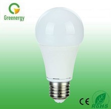 Greenergy hot 270 degree LED Bulb E27 Aluminum +Plastic body 560lm 7W LED Bulb amazing price