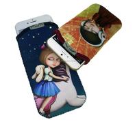 Neoprene mobile phone/cellphone pouch/bag