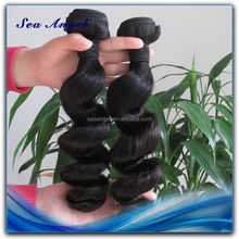 Hot Sell Tangle Free Unprocessed Long 16 Inch Hair Extensions