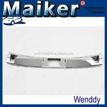 ABS Chrome rear bumper footplate For Jeep Compass MK 2011+ off road 4x4 auto tuning accessoires from Maiker