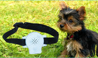 2015 Noisy dog safe training ultrasonic & voice recording puppy collar WT711
