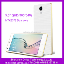 low cost 3g mobile phone 5.0 inch 3g android yxtel mobile phone C506 MTK6572 dual core 3g wcdma gsm dual sim smart phone