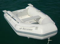 aluminium floor inflatable boat military inflatable boat with electric motor