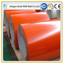 ppgi color coated steel coil, most popular color coated galvanized coil
