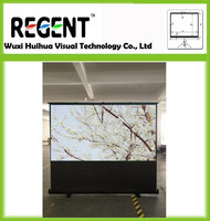 "Selected Standing Curtain 84"" 16:9 / Floor Stand Screen/ Projector Screen"