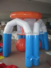 inflatable basketball hoop shooting game