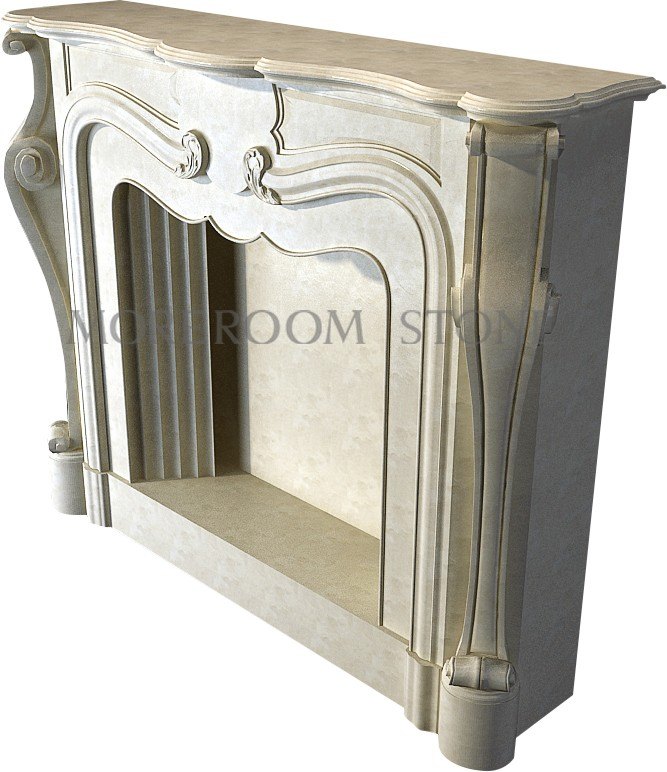 WL-BL001 Moreroom Stone Natural Marble Finished Marble Product Natural Stone Marble Fireplace.jpg