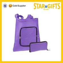 New design promotional reusable foldable nonwoven shopping bag