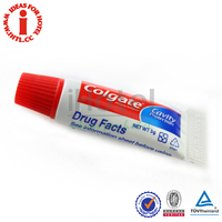 Hotel Travel Kit 5g Colgate Toothpaste Tube Disposable Toothpaste