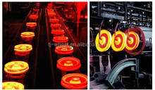 Railway Rolling Stock Wheel Set with CL70 material