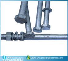 ISO4014/DIN931 hexagonal Tornillos
