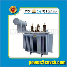 S9 three 3 phase oil distribution power transformer 63kva oil transformer