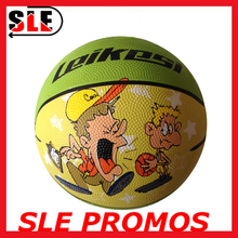 Wholesale hot selling new design promo basketball child basketballs