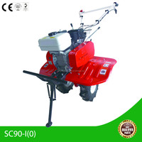 Most favorite diesel engine 170F classic design manual mini motocultor for farming and gardening
