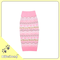 2015 newest jacquard knitting for dog sweater/pet sweater