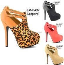 2015 latest High Hot women shoes fashion lady sexy pump shoes (JM-0497)