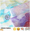 Designed swiss voile fabric flower jacquard yarn dyed organza