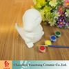Kid's Gift DIY Dinosaur Figurines Unpainted Ceramic Bisque Animal