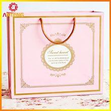 Luxury Christmas Shopping Bag Paper Printed Bag