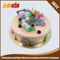 De promoción de la boda falsa de la torta