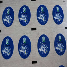 embossing aluminum foil cover for yogurt cups and ice cream lids