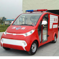 2 seat electric antique fire trucks for sale LT-S2.XF