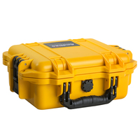 crushproof portable plastic waterproof tool case