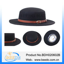 Hot selling canada fedora hats ribbons for sale
