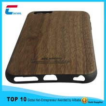 New arrival wooden cell phone cover for iphone 6, custom logo printing for iphone 6 wood wooden cover ,wood for iphone 6 case