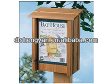 Unfinshed Shabby Chic Wooden Rat House/Bird House Design