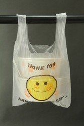 cheaper and selling well promotional supermarket t shirt plastic bag with top grade printing