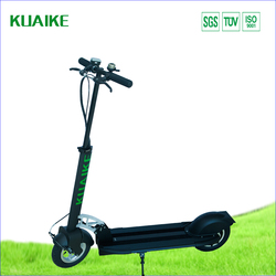 black Kick to start sports electric motor scooter